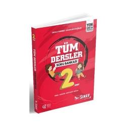 Sınav Dergisi Yayınları - Sınav Yayınları 2. Sınıf Tüm Dersler Soru Bankası