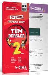 Sınav Dergisi Yayınları - Sınav Yayınları 2. Sınıf Tüm Dersler Yaprak Test