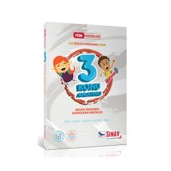 Sınav Dergisi Yayınları - Sınav Yayınları 3. Sınıf Tüm Dersler Konu Anlatımlı