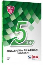 Sınav Dergisi Yayınları - Sınav Yayınları 5. Sınıf Din Kültürü ve Ahlak Bilgisi Soru Bankası BTS