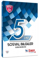 Sınav Dergisi Yayınları - Sınav Yayınları 5. Sınıf Sosyal Bilgiler Soru Bankası BTS