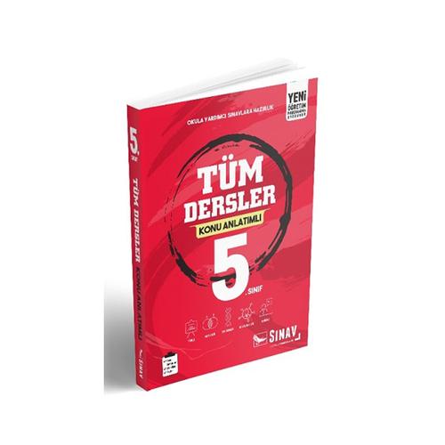 Sınav Yayınları 5. Sınıf Tüm Dersler Konu Anlatımlı