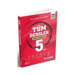 Sınav Dergisi Yayınları - Sınav Yayınları 5. Sınıf Tüm Dersler Soru Bankası