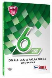 Sınav Dergisi Yayınları - Sınav Yayınları 6. Sınıf Din Kültürü ve Ahlak Bilgisi Soru Bankası BTS