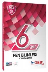 Sınav Dergisi Yayınları - Sınav Yayınları 6. Sınıf Fen Bilimleri Soru Bankası BTS