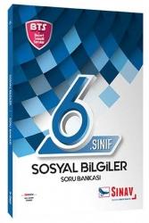 Sınav Dergisi Yayınları - Sınav Yayınları 6. Sınıf Sosyal Bilgiler Soru Bankası BTS