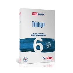 Sınav Dergisi Yayınları - Sınav Yayınları 6. Sınıf Türkçe Soru Bankası