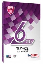 Sınav Dergisi Yayınları - Sınav Yayınları 6. Sınıf Türkçe Soru Bankası BTS