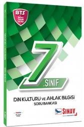 Sınav Dergisi Yayınları - Sınav Yayınları 7. Sınıf Din Kültürü ve Ahlak Bilgisi Soru Bankası BTS