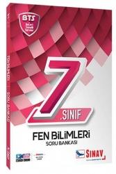 Sınav Dergisi Yayınları - Sınav Yayınları 7. Sınıf Fen Bilimleri Soru Bankası BTS
