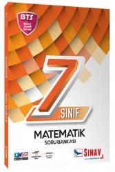 Sınav Dergisi Yayınları - Sınav Yayınları 7. Sınıf Matematik Soru Bankası BTS