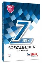 Sınav Dergisi Yayınları - Sınav Yayınları 7. Sınıf Sosyal Bilgiler Soru Bankası BTS