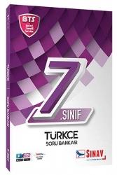 Sınav Dergisi Yayınları - Sınav Yayınları 7. Sınıf Türkçe Soru Bankası BTS