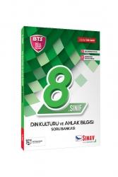 Sınav Dergisi Yayınları - Sınav Yayınları 8. Sınıf LGS Din Kültürü ve Ahlak Bilgisi Soru Bankası