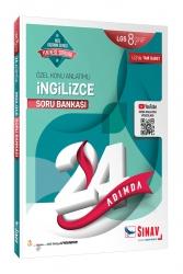 Sınav Dergisi Yayınları - Sınav Yayınları 8. Sınıf LGS İngilizce 24 Adımda Özel Konu Anlatımlı Soru Bankası