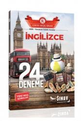 Sınav Dergisi Yayınları - Sınav Yayınları 8. Sınıf LGS İngilizce 24 Deneme Sınavı