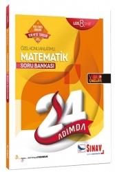 Sınav Dergisi Yayınları - Sınav Yayınları 8. Sınıf LGS Matematik 24 Adımda Özel Konu Anlatımlı Soru Bankası