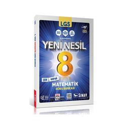 Sınav Dergisi Yayınları - Sınav Yayınları 8. Sınıf LGS Yeni Nesil Matematik Soru Bankası