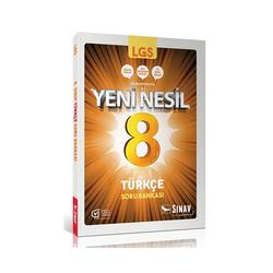 Sınav Dergisi Yayınları - Sınav Yayınları 8. Sınıf LGS Yeni Nesil Türkçe Soru Bankası