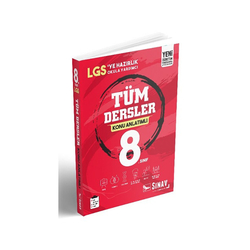 Sınav Dergisi Yayınları - Sınav Yayınları 8. Sınıf Tüm Dersler Konu Anlatımlı