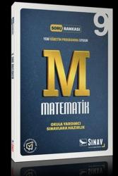 Sınav Dergisi Yayınları - Sınav Yayınları 9. Sınıf Matematik Soru Bankası