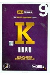 Sınav Dergisi Yayınları - Sınav Yayınları 9.Sınıf Kimya Soru Bankası