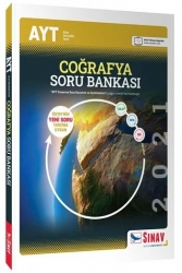 Sınav Dergisi Yayınları - Sınav Yayınları AYT Coğrafya Soru Bankası