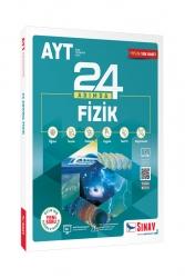 Sınav Dergisi Yayınları - Sınav Yayınları AYT Fizik 24 Adımda Konu Anlatımlı Soru Bankası
