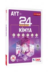 Sınav Dergisi Yayınları - Sınav Yayınları AYT Kimya 24 Adımda Konu Anlatımlı Soru Bankası
