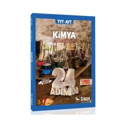 Sınav Dergisi Yayınları - Sınav Yayınları TYT AYT Kimya 24 Adımda Özel Konu Anlatımlı Soru Bankası