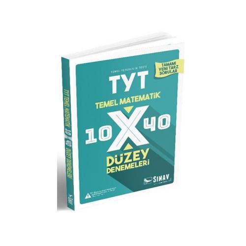 Sınav Yayınları TYT Matematik 10×40 Düzey Denemeleri