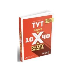 Sınav Dergisi Yayınları - Sınav Yayınları TYT Türkçe 10×40 Düzey Denemeleri