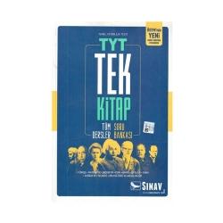 Sınav Dergisi Yayınları - Sınav Yayınları YKS 1. Oturum TYT Tüm Dersler Tek Kitap Soru Bankası