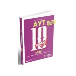 Sınav Dergisi Yayınları - Sınav Yayınları AYT Sözel 10 Deneme Seti