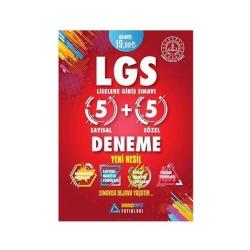 Sıradışıanaliz Yayınları - Sıradışıanaliz Yayınları LGS Yeni Nesil 5 Deneme