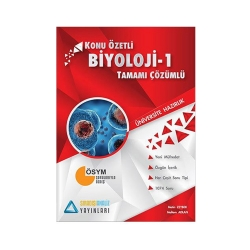 Sıradışıanaliz Yayınları - Sıradışıanaliz Yayınları TYT Biyoloji 1 Konu Özetli Tamamı Çözümlü Soru Bankası
