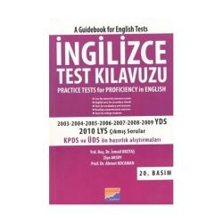 Siyasal Kitabevi Yayınları - Siyasal Kitabevi İngilizce Test Klavuzu