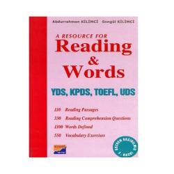 Siyasal Kitabevi Yayınları - Siyasal Kitabevi Readings and Words YDS - KPDS - TOEFL - UDS