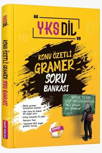 Smart English YKSDil Konu Özetli Gramer Soru Bankası