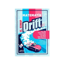 Son Viraj Yayınları - Son Viraj Yayınları 6. Sınıf Matematik Drift Serisi