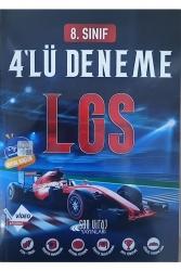 Son Viraj Yayınları - Son Viraj Yayınları 8. Sınıf LGS 4 lü Deneme