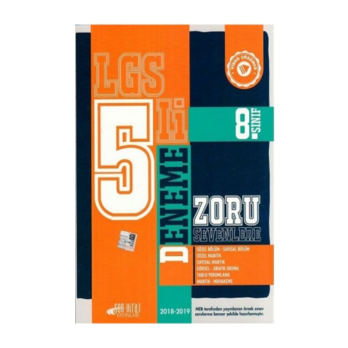 Son Viraj Yayınları 8. Sınıf LGS 5 li Deneme