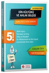 Sonuç Yayınları - Sonuç Yayınları 5. Sınıf Din Kültürü ve Ahlak Bilgisi Konu Özetli Soru Bankası