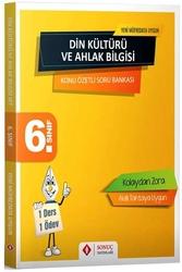 Sonuç Yayınları - Sonuç Yayınları 6. Sınıf Din Kültürü ve Ahlak Bilgisi Konu Özetli Soru Bankası
