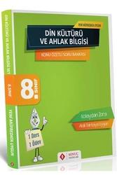 Sonuç Yayınları - Sonuç Yayınları 8. Sınıf Din Kültürü ve Ahlak Bilgisi Konu Özetli Soru Bankası