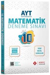 Sonuç Yayınları - Sonuç Yayınları AYT Matematik Video Çözümlü 10 Deneme