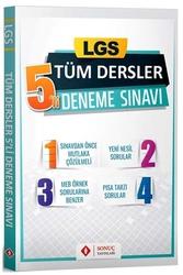 Sonuç Yayınları - Sonuç Yayınları LGS Tüm Dersler 5'li Deneme Sınavı