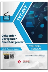 Sonuç Yayınları - Sonuç Yayınları TYT AYT Çokgenler Dörtgenler Özel Dörtgenler