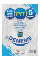 Sonuç Yayınları - Sonuç Yayınları TYT Video Çözümlü 5 Deneme Karekodlu