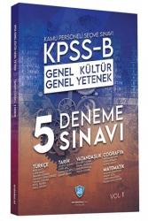 Sorubankası.net - Sorubankası.net Yayınları 2021 KPSS B Genel Yetenek Genel Kültür 5 Deneme Çözümlü